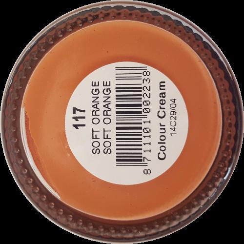 Sterkdekkende schoencrème Zacht oranje - Sterkdekkende Schoensmeer Zacht oranje - Sterkdekkende Shoe Cream Zacht oranje