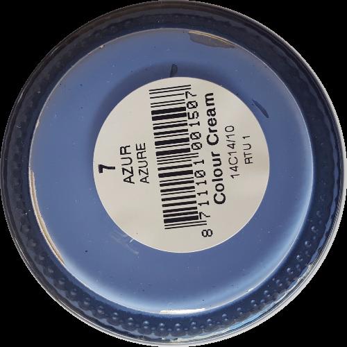 Sterkdekkende schoencrème Azur - Sterkdekkende Schoensmeer Azur - Sterkdekkende Shoe Cream Azur