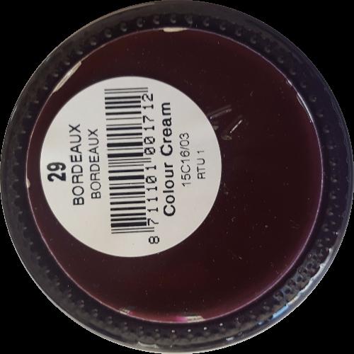 Sterkdekkende schoencrème Bordeaux - Sterkdekkende Schoensmeer Bordeaux - Sterkdekkende Shoe Cream Bordeaux