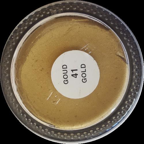 Sterkdekkende schoencrème Goud Metallic - Sterkdekkende Schoensmeer Goud Metallic - Sterkdekkende Shoe Cream Goud Metallic