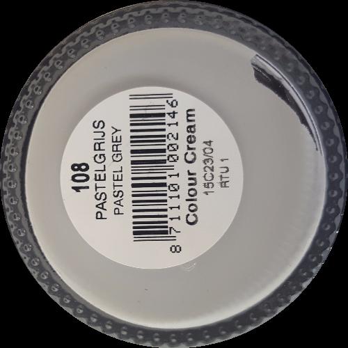 Sterkdekkende schoencrème Pastelgrijs - Sterkdekkende Schoensmeer Pastelgrijs - Sterkdekkende Shoe Cream Pastelgrijs