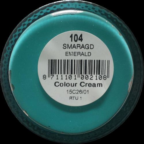 Sterkdekkende schoencrème Smaragd - Sterkdekkende Schoensmeer Smaragd - Sterkdekkende Shoe Cream Smaragd