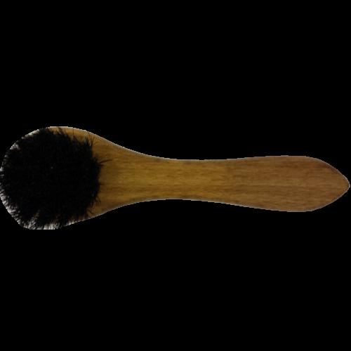 Insmeerborstel paardenhaar Zwart
