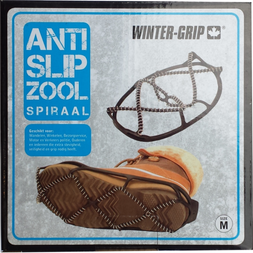 Anti Slip Zool spiraal maat M