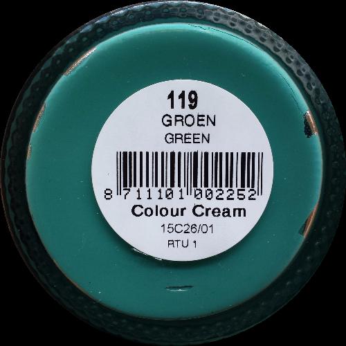 Sterkdekkende schoencrème Groen - Sterkdekkende Schoensmeer Groen - Sterkdekkende Shoe Cream Groen