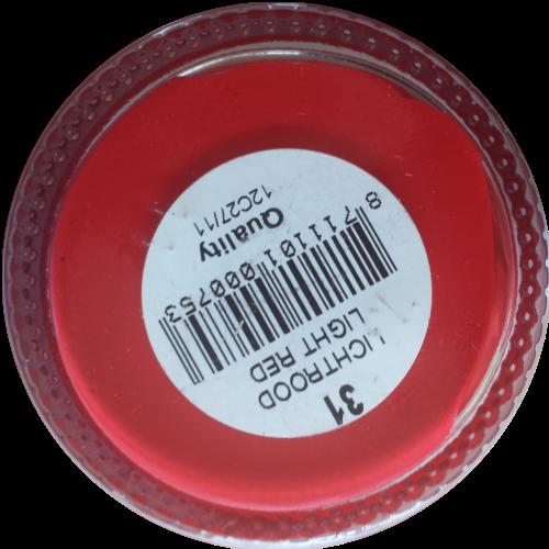 Sterkdekkende schoencrème Licht Rood - Sterkdekkende Schoensmeer Licht Rood - Sterkdekkende Shoe Cream Licht Rood