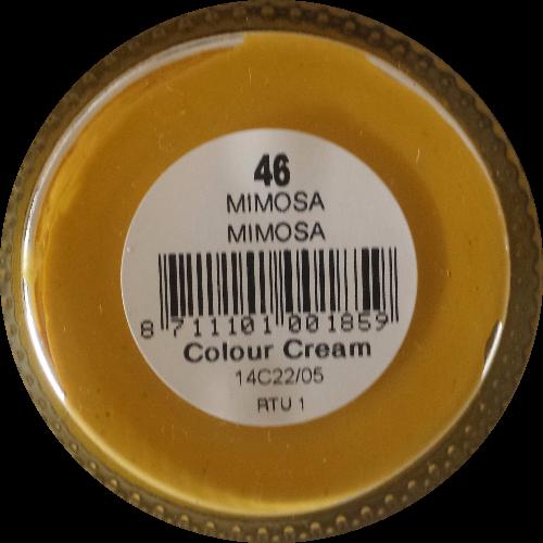 Sterkdekkende schoencrème Mimosa - Sterkdekkende Schoensmeer Mimosa - Sterkdekkende Shoe Cream Mimosa