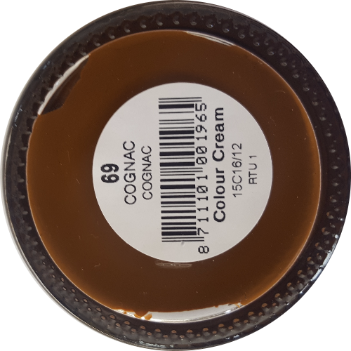 Sterkdekkende schoencrème Cognac - Sterkdekkende Schoensmeer Cognac - Sterkdekkende Shoe Cream Cognac