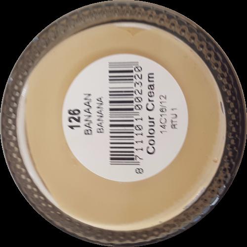 Sterkdekkende schoencrème Banaan - Sterkdekkende Schoensmeer Banaan - Sterkdekkende Shoe Cream Banaan