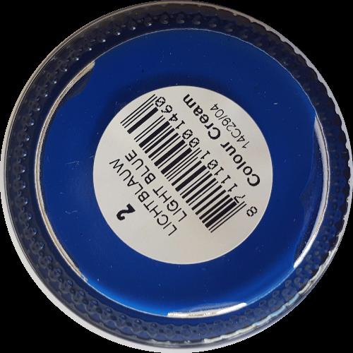 Sterkdekkende schoencrème Licht Blauw - Sterkdekkende Schoensmeer Licht Blauw - Sterkdekkende Shoe Cream Licht Blauw