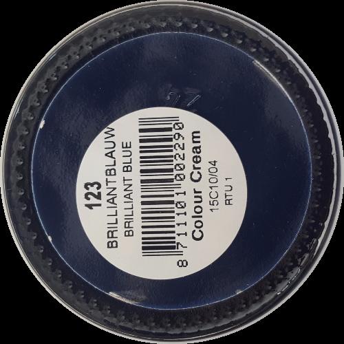 Sterkdekkende schoencrème Brilliantblauw - Sterkdekkende Schoensmeer Brilliantblauw - Sterkdekkende Shoe Cream Brilliantblauw