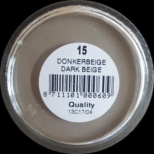 Schoencrème Donker Beige  - Schoensmeer Donker Beige - Shoe Cream Donker Beige