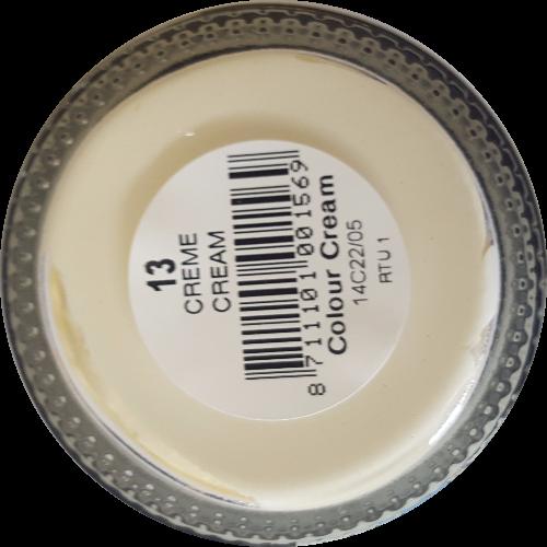 Sterkdekkende schoencrème Crème - Sterkdekkende Schoensmeer Crème - Sterkdekkende Shoe Cream Crème