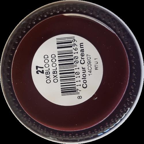Sterkdekkende schoencrème Oxblood - Sterkdekkende Schoensmeer Oxblood - Sterkdekkende Shoe Cream Oxblood