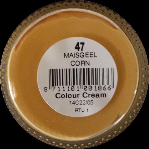 Sterkdekkende schoencrème Maisgeel - Sterkdekkende Schoensmeer Maisgeel - Sterkdekkende Shoe Cream Maisgeel