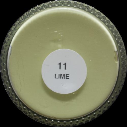 Sterkdekkende schoencrème Limegroen - Sterkdekkende Schoensmeer Limegroen - Sterkdekkende Shoe Cream Limegroen