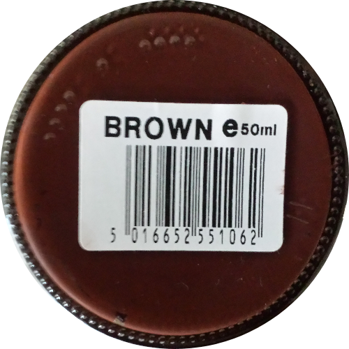 Sterkdekkende schoencrème Brown - Sterkdekkende Schoensmeer Brown - Sterkdekkende Shoe Cream Brown
