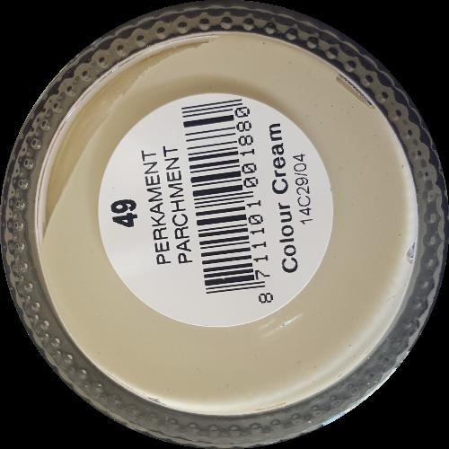 Sterkdekkende schoencrème Perkament - Sterkdekkende Schoensmeer Perkament - Sterkdekkende Shoe Cream Perkament