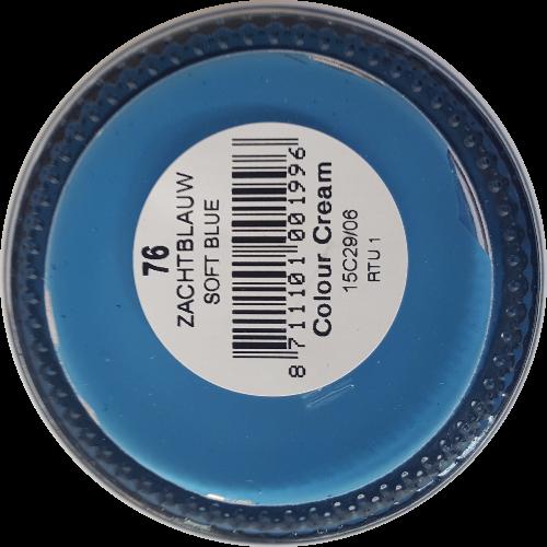 Sterkdekkende schoencrème Zachtblauw - Sterkdekkende Schoensmeer Zachtblauw - Sterkdekkende Shoe Cream Zachtblauw