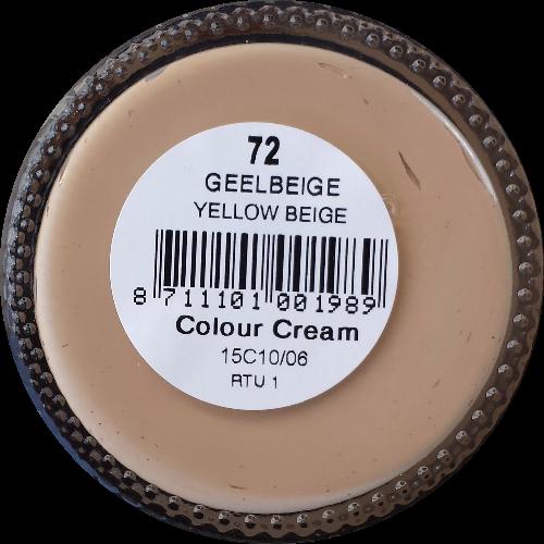 Sterkdekkende schoencrème Geelbeige - Sterkdekkende Schoensmeer Geelbeige - Sterkdekkende Shoe Cream Geelbeige