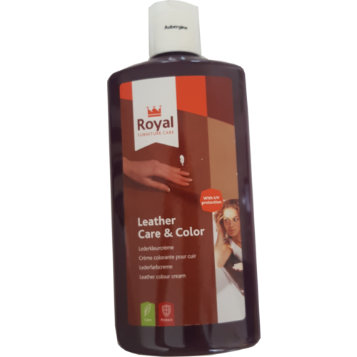 Leather Care & Color Aubergine
