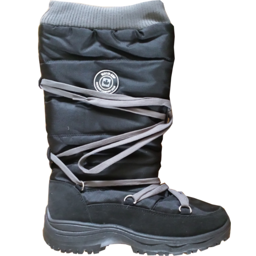 Snowboots Laced-up Hiker Zwart